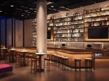 Bar of Nobu restaurant ~ Nobu Hotel Shoreditch