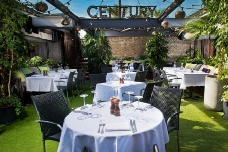 Century Club Outdoor Space