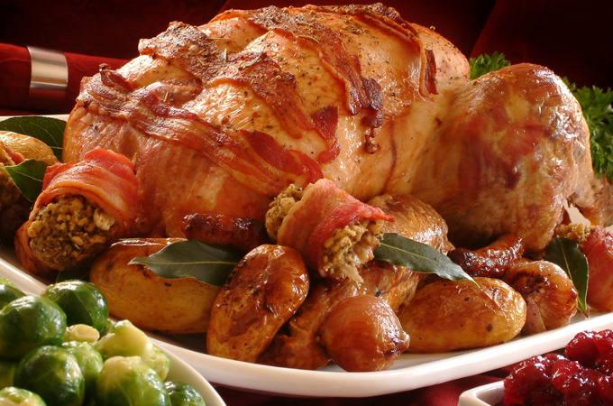 Christmas Turkey and Food