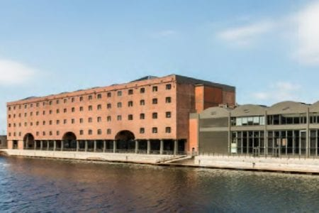 historic iconic dock port building