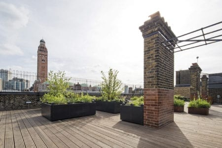 Roof terrace Victoria meeting venue