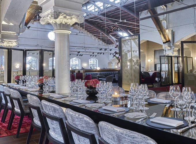 5 quirky private dining venues for client entertaining for Best private dining rooms west end london