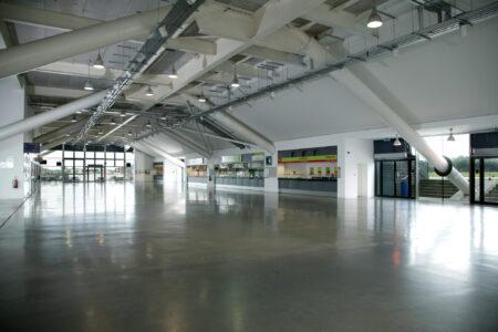 large blank canvas venue