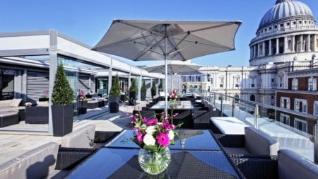 sky bar roof terrace