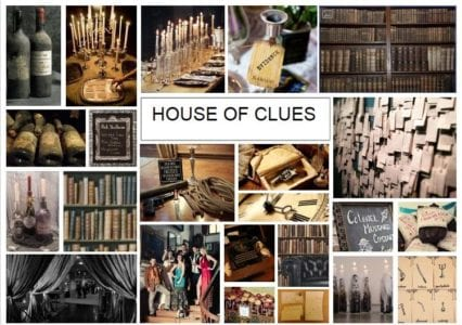 house of clues christmas party