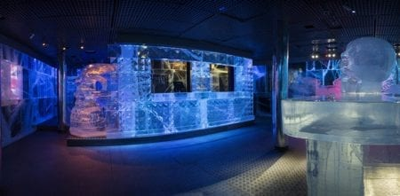London Icebar Design 2015/16 Theme Rock.  Pictures by Peter Kindersley