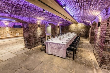 unique private dining london
