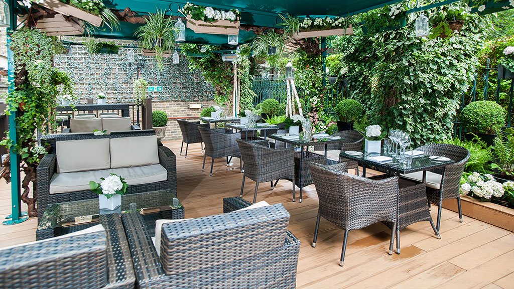 summer party at the Montague