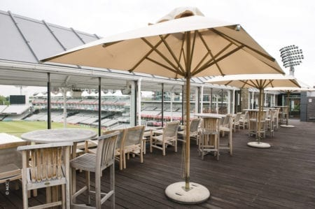 summer party venue at Lord's cricket ground