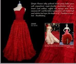 Red-vintage-Giorgio-Armani-gown-Michelle