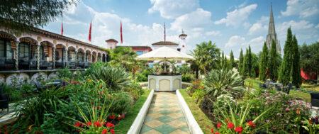 Spanish gardens - the Roof Garden London