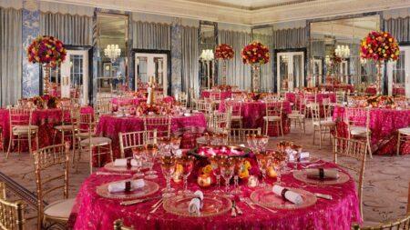 The Dorchester, The Ballroom, Asian social set up Crop High Res
