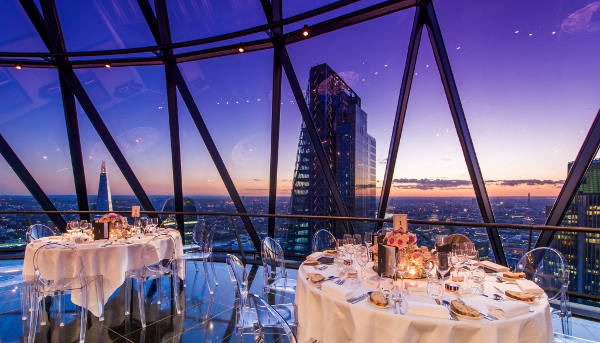 The Gherkin - Interior Image and View