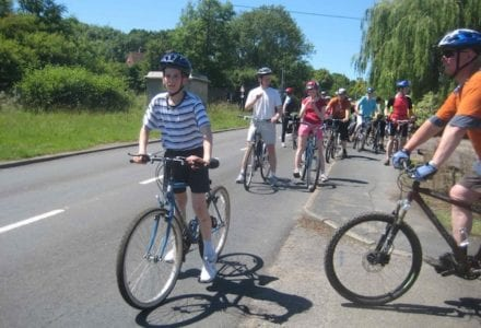 The Hogs back cycle ride photo RHB 4