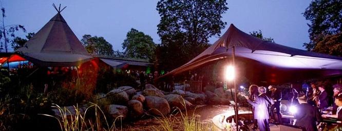 The Lookout - Hyde Park summer party venue London