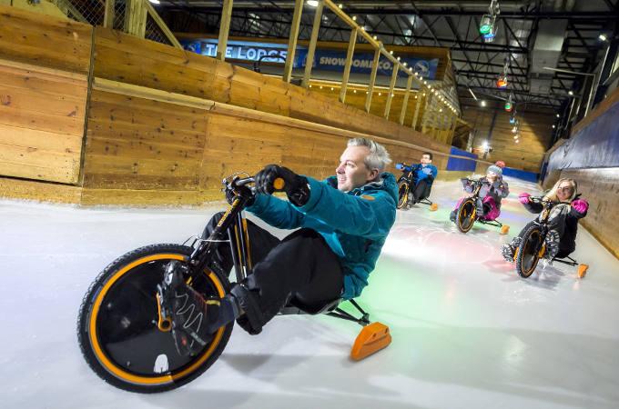 The SnowDome - Birmingham - Ice Track