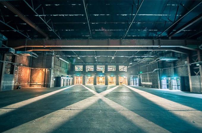 Victoria Warehouse Interior Image
