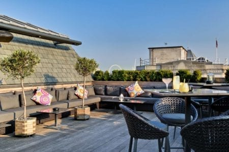 london roof terrace summer party