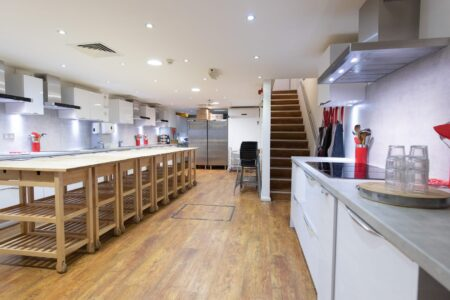 Commercial Kitchen for hire in London