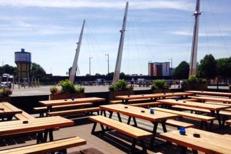 Bierkeller Cardiff Beer Garden
