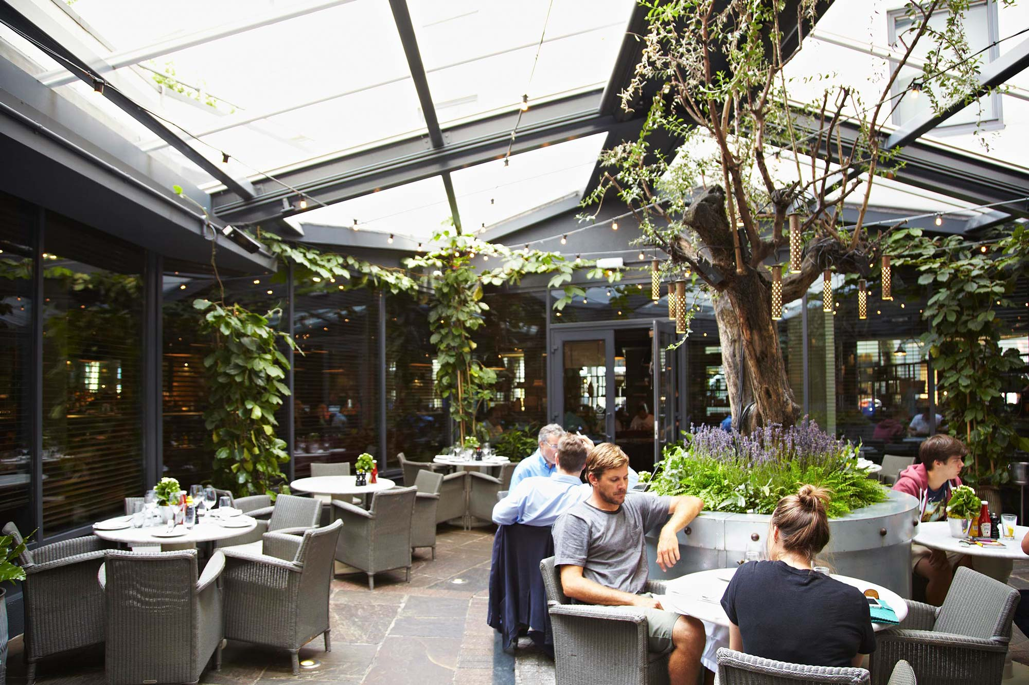 the perfect london venue for your winter garden party function