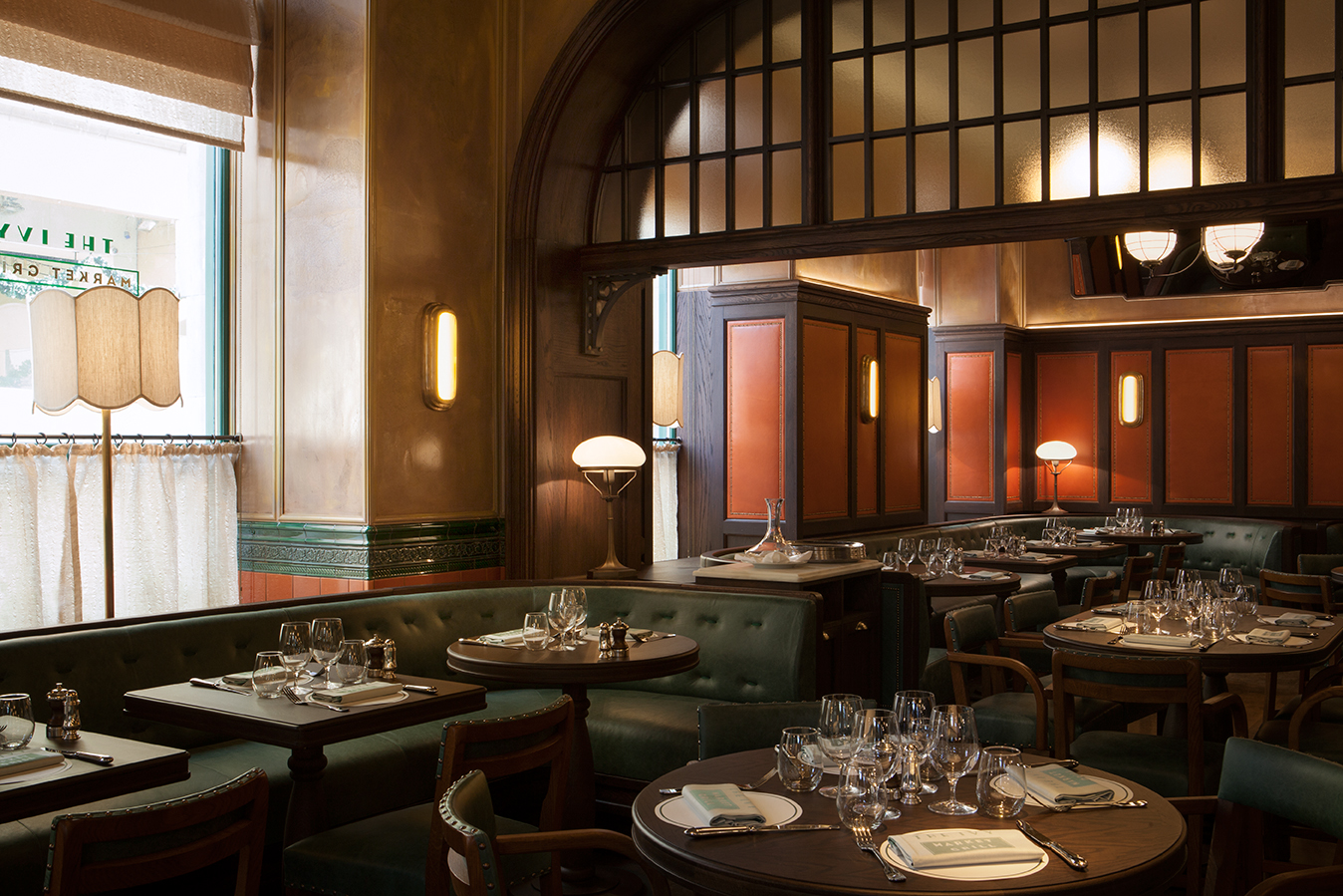 Book the ivy market grill private dining room for free for Best private dining rooms covent garden