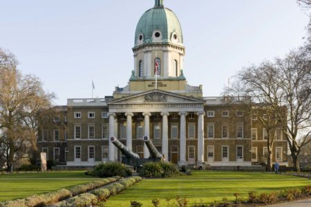Imperial War Museum outside
