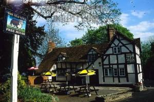 Old Bull Inn , Inkbarrow . The pub in the Archers , Ambridge !