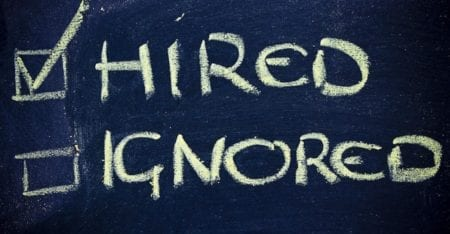 perfect CV, hired or ignored
