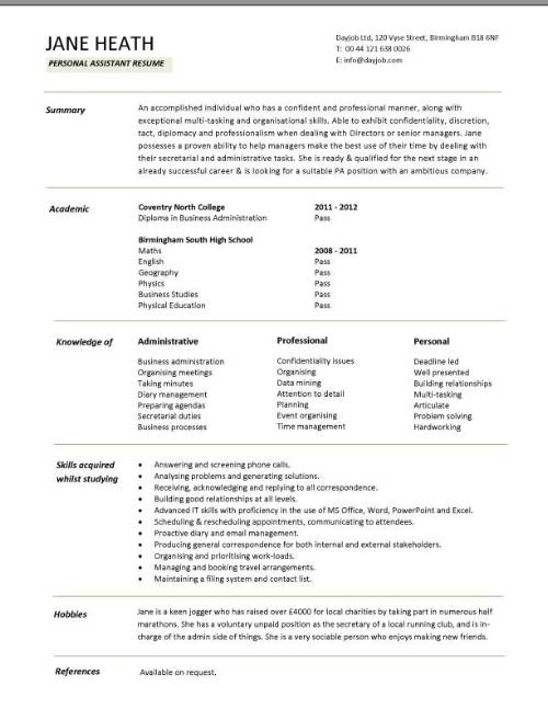resume examples and samples customer service how to write a cv profile uk - How To Make A Cv Uk